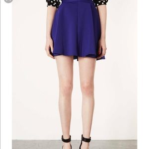 TopShop purple skater skirt ❄️